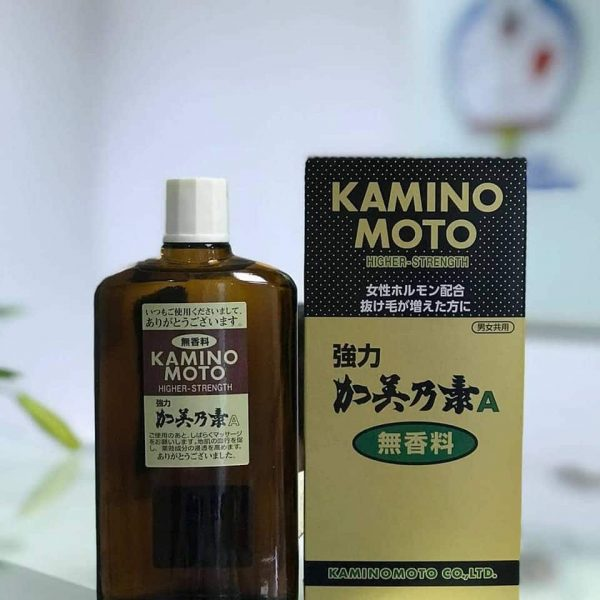 Thuoc kich thich moc toc Kaminomoto Higher Strength 3
