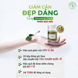 vien thao moc giam can slimming care x3 2